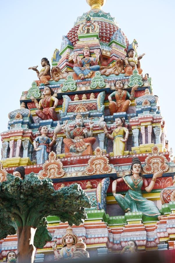 Hindu Temple - India. The Minakshi Sundareshvara Hindu Temple in the town of Madurai in the Tamil Nadu region of southern India royalty free stock images