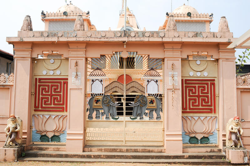 Hindu temple of Jain at Fort Cochin. On India royalty free stock photography