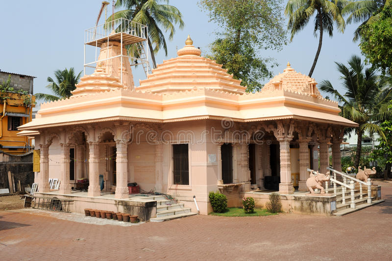 Hindu temple of Jain at Fort Cochin. On India royalty free stock photo
