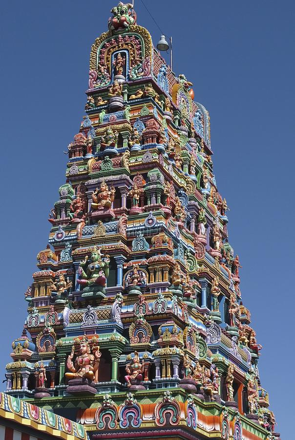 Hindu Temple, Landmark, Christmas Tree, Building royalty free stock photos