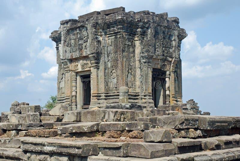 Download Hindu Temple Phnom Bakheng, Angkor, Cambodia Stock Photo - Image of pyramid, historic: 17200292