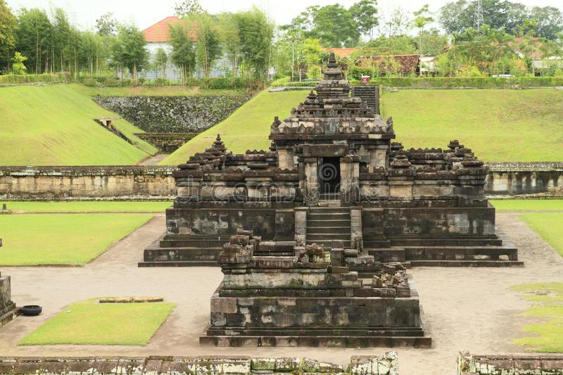 Hindu temple Sambisari - central part stock images