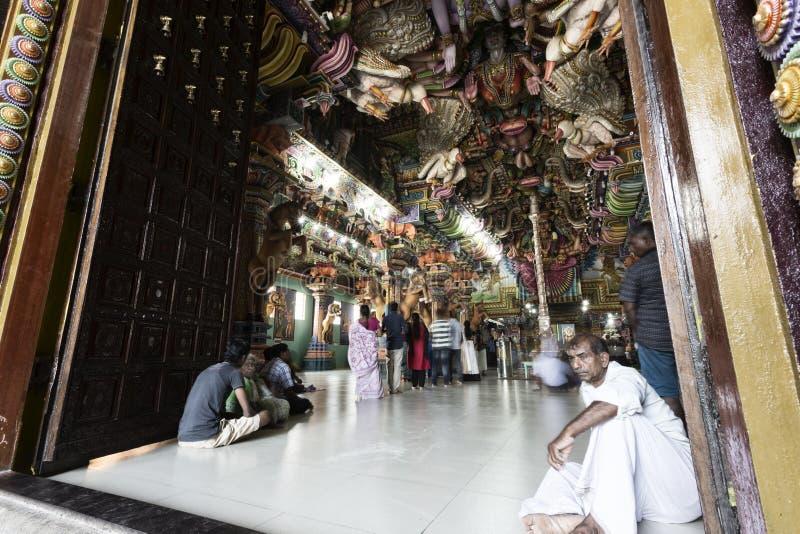 Hindu temple in Trincomalee, Sri lanka stock photography
