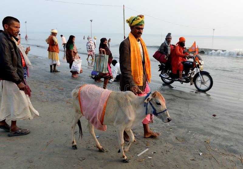 hinduisk festival arkivfoto