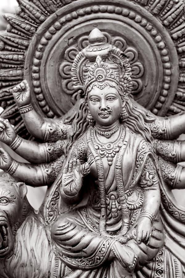hinduisk gudinna arkivbilder