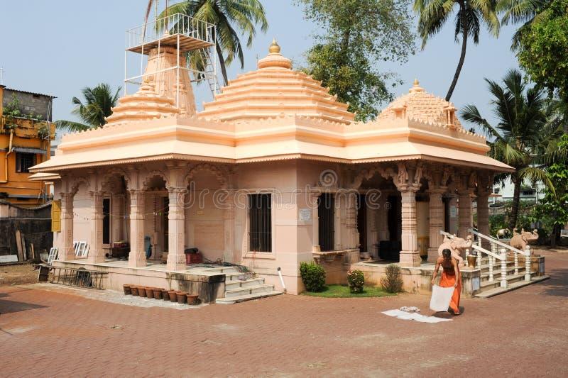 Hinduisk tempel av Jain på fortet Cochin arkivfoto