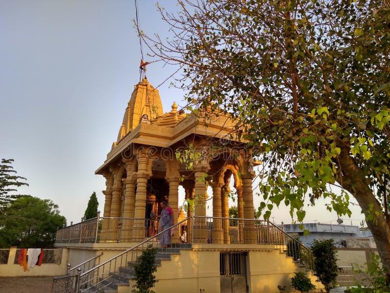 Hinduisk tempel Bagathala royaltyfria bilder