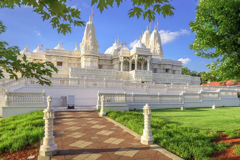 Hinduisk tempel i Atlanta arkivfoto