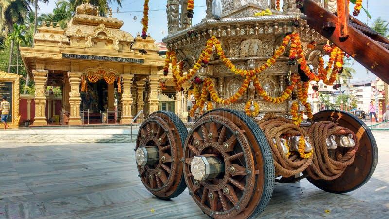 Hinduisk tempel Mangalore royaltyfri fotografi