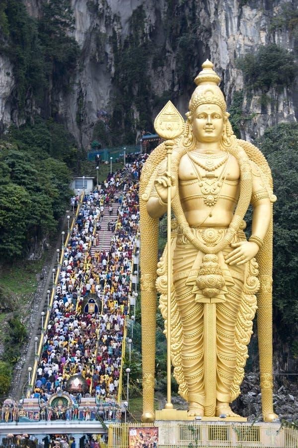 hinduisk thaipusam för festival royaltyfria bilder