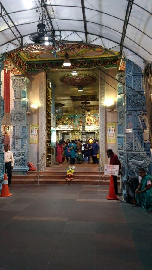 hinduiska religiösa shower för tempelundeesida royaltyfria bilder