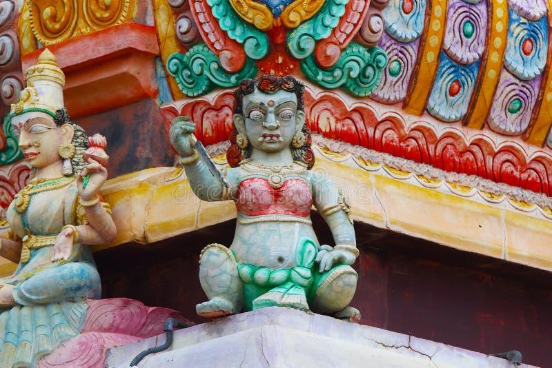Hinduiska statyer i Sri Lanka fotografering för bildbyråer