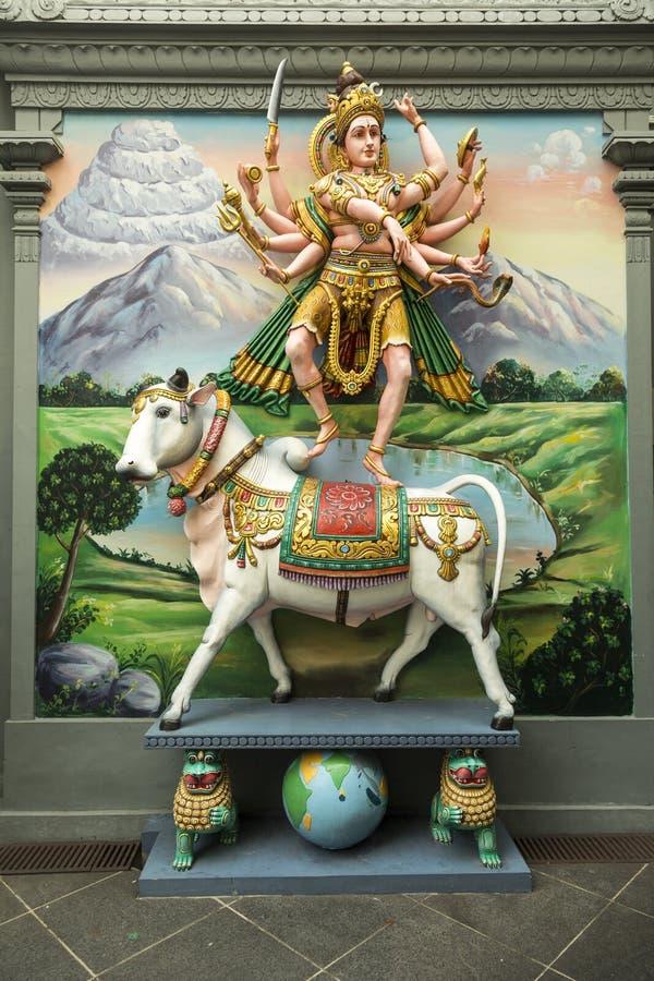 hinduiskt tempel fotografering för bildbyråer