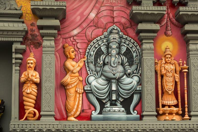 hinduiskt tempel royaltyfria foton