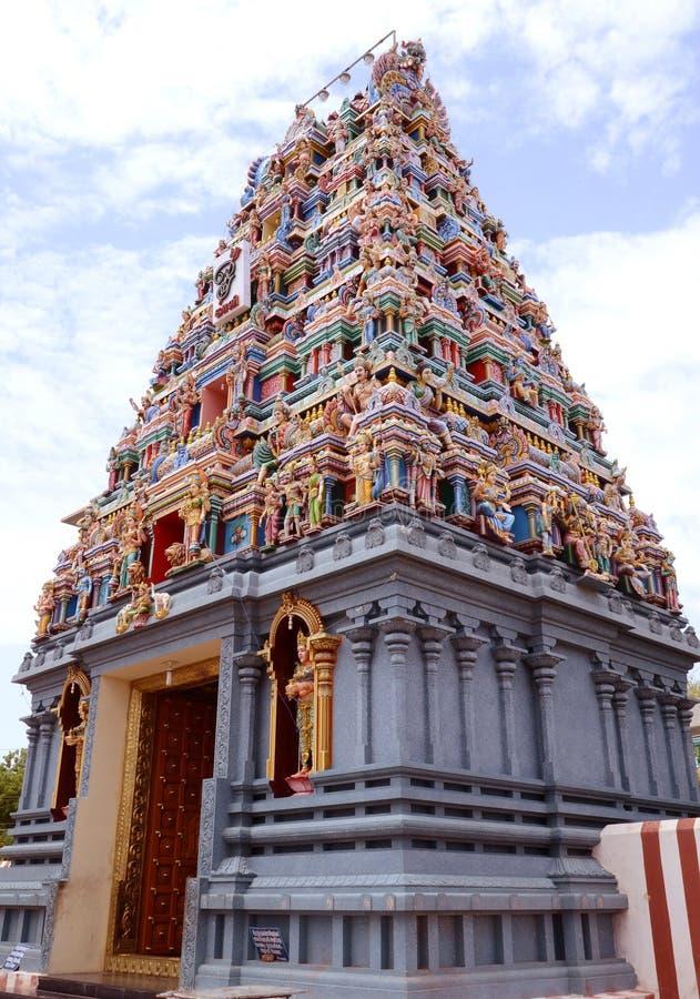 hinduiskt tempeltorn royaltyfri bild