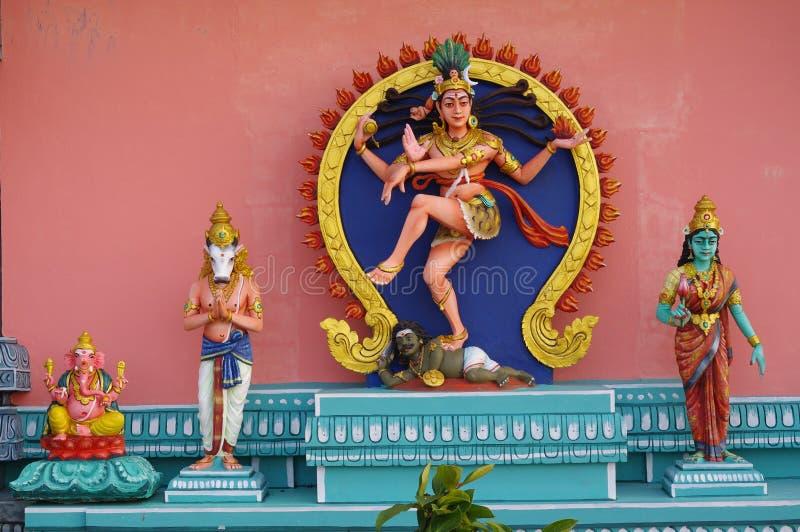Shiva Nataraja, the Lord of the Dance. royalty free stock photography