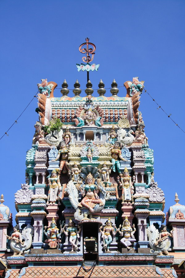 Hinduism Temple In Penang Royalty Free Stock Images