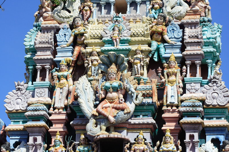 Download Hinduism Temple In Penang stock photo. Image of historical - 5052166