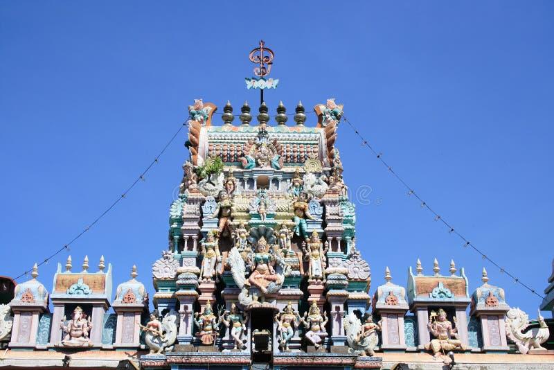 hinduismpenang tempel arkivbilder