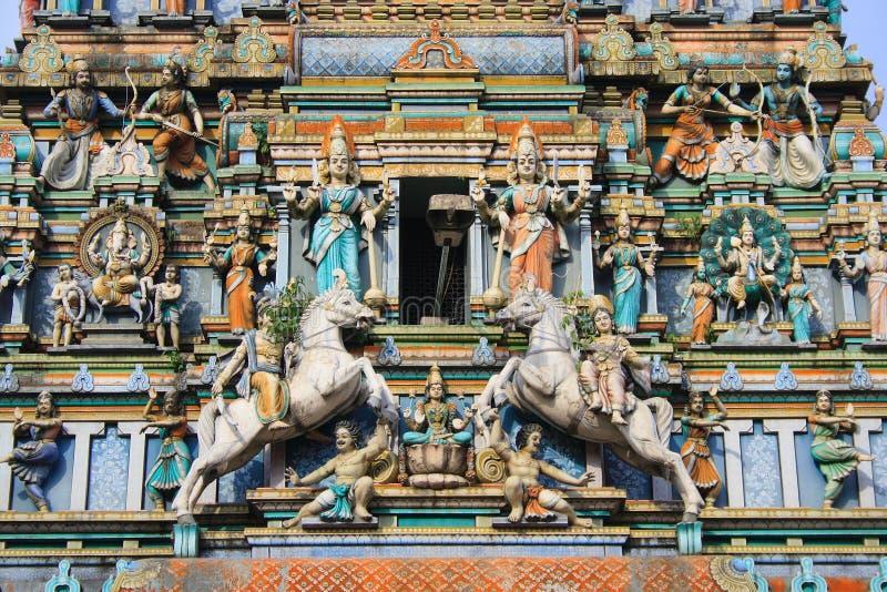 hinduismtempel royaltyfria foton