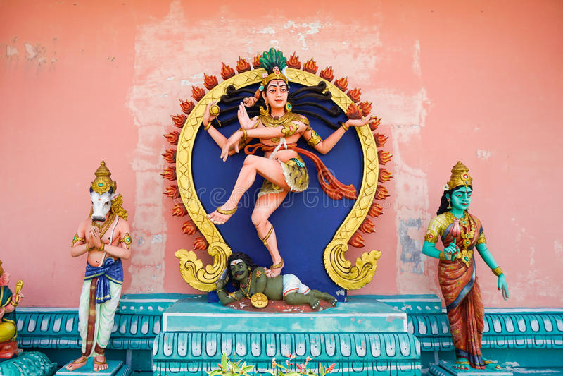 Hinduist statua Kali fotografia royalty free
