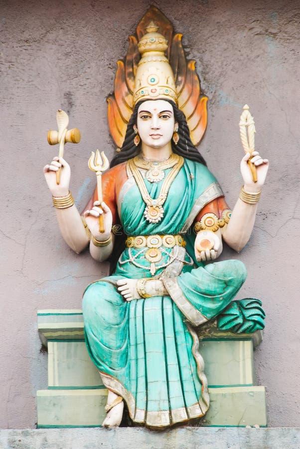 Hinduistische Gottheit stockfotos