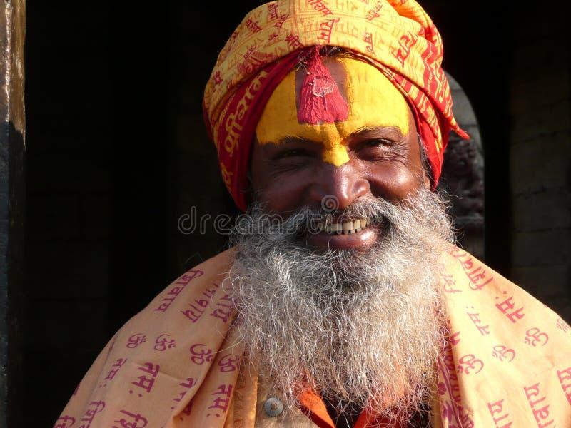 Hinduistischer heiliger Mann stockfoto