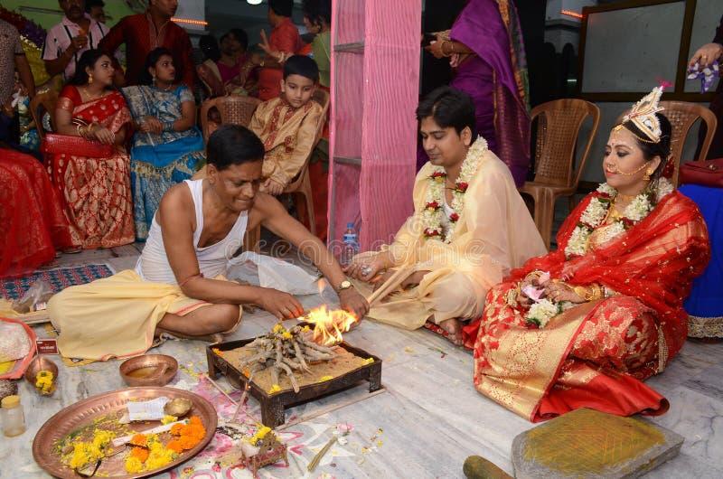 Hinduistischer Priester lizenzfreie stockfotografie