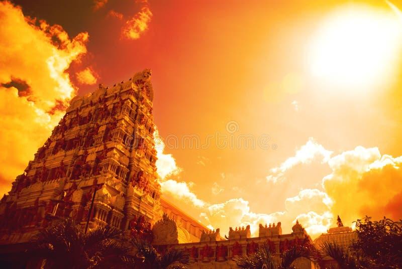 Hinduistischer Tempel lizenzfreies stockbild