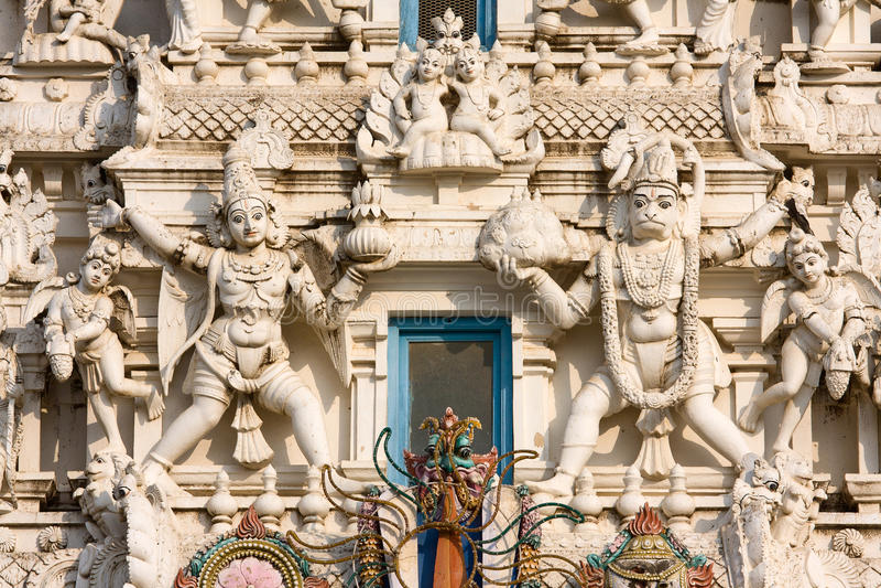 Hindus寺庙, Pushkar,拉贾斯坦,印度。 库存照片