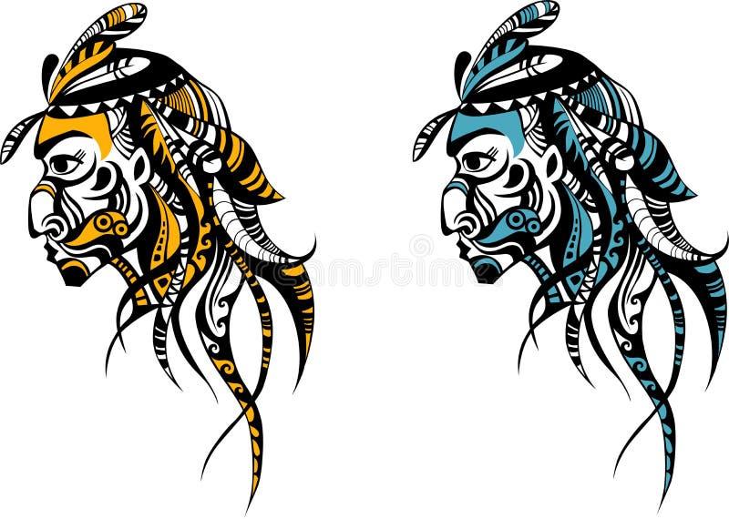 hindus royalty ilustracja