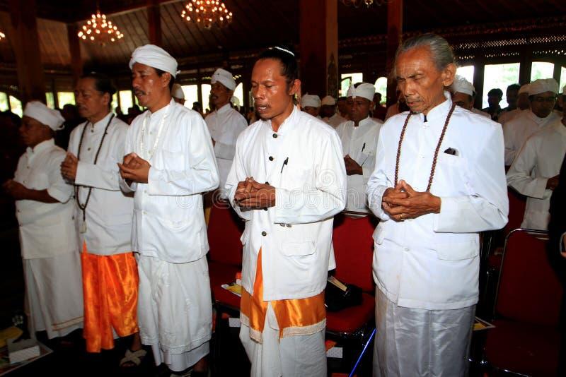 Hindus ber royaltyfri bild