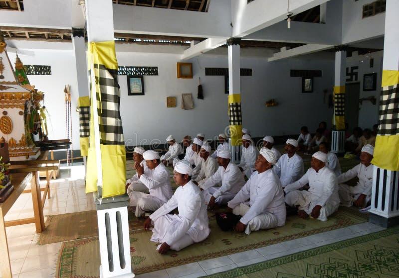 Hindus bidt royalty-vrije stock foto