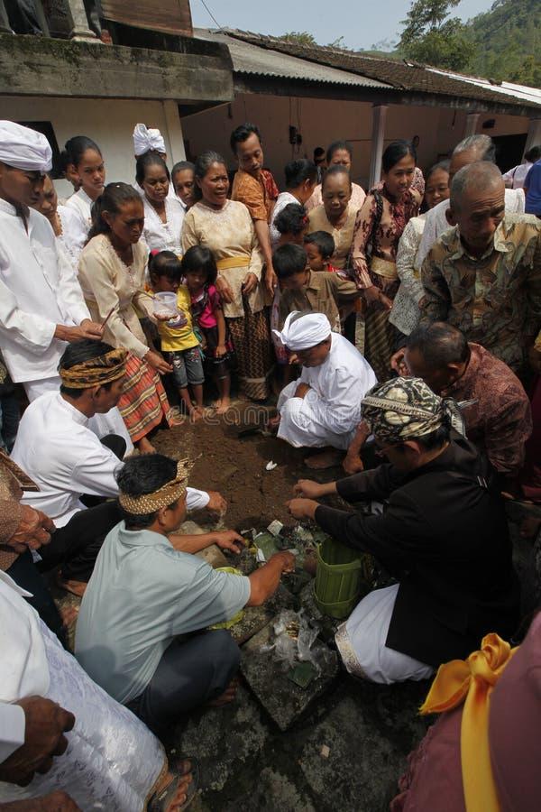 Hindus ceremoni fotografering för bildbyråer