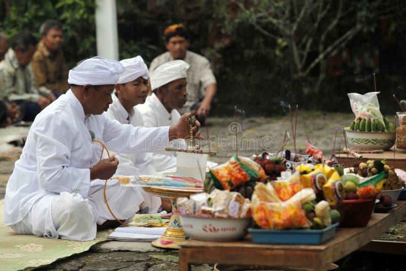 Hindus ceremoni royaltyfria bilder