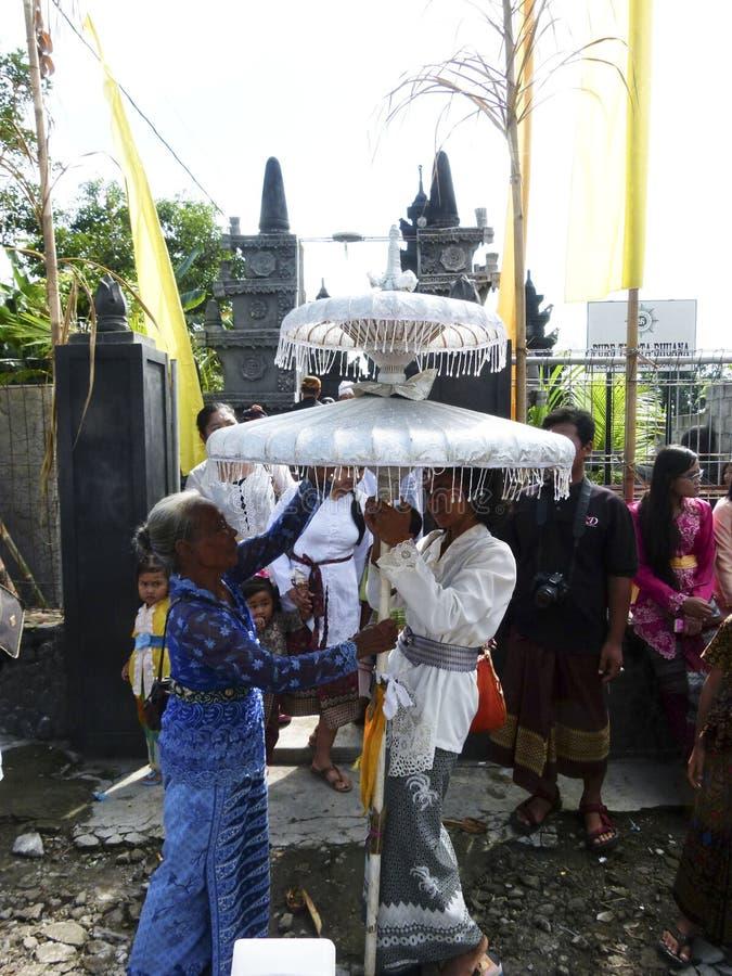 Hindus ceremoni arkivfoton