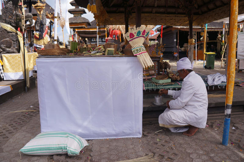 Hindus ceremonia obrazy stock