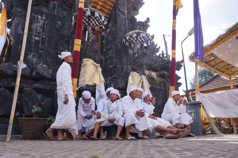 Hindus ceremonia obrazy royalty free