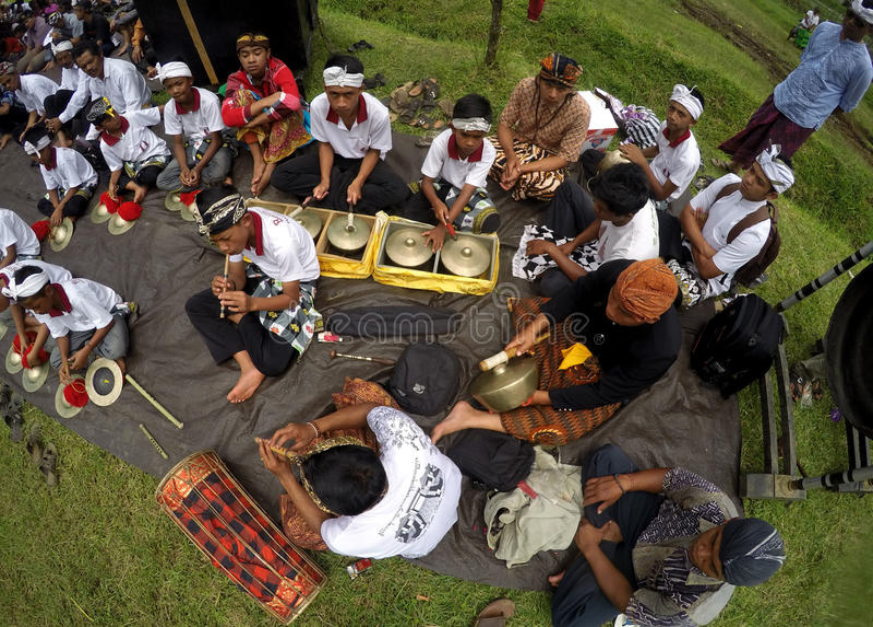 Hindus musik royaltyfri foto