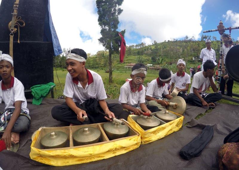 Hindus musik royaltyfri fotografi