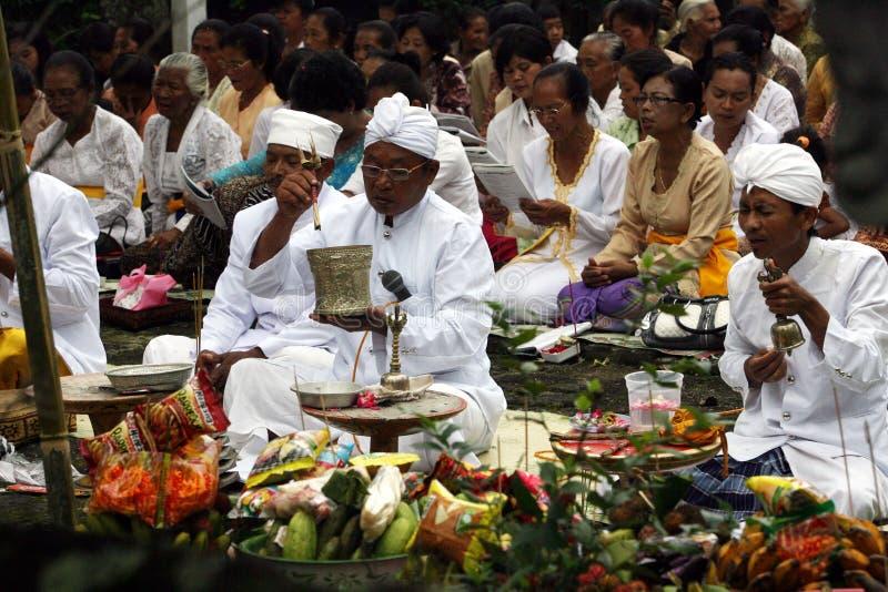 Hindus pray stock photos