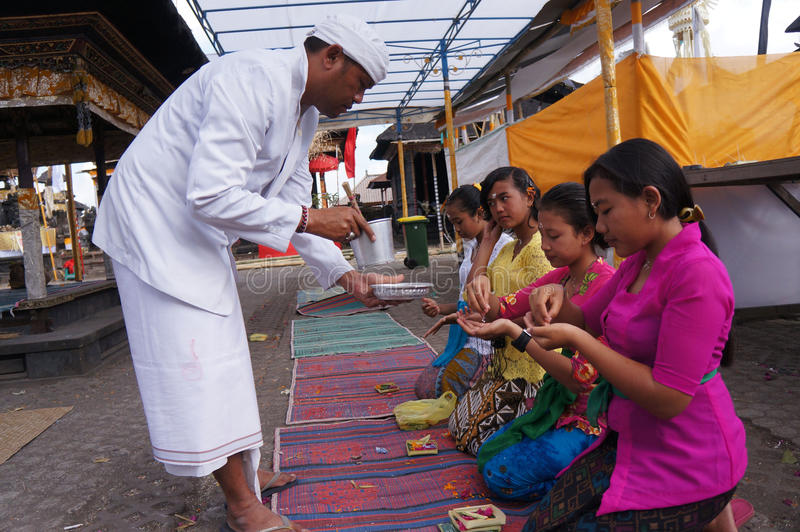 Hindus ritual royaltyfri foto
