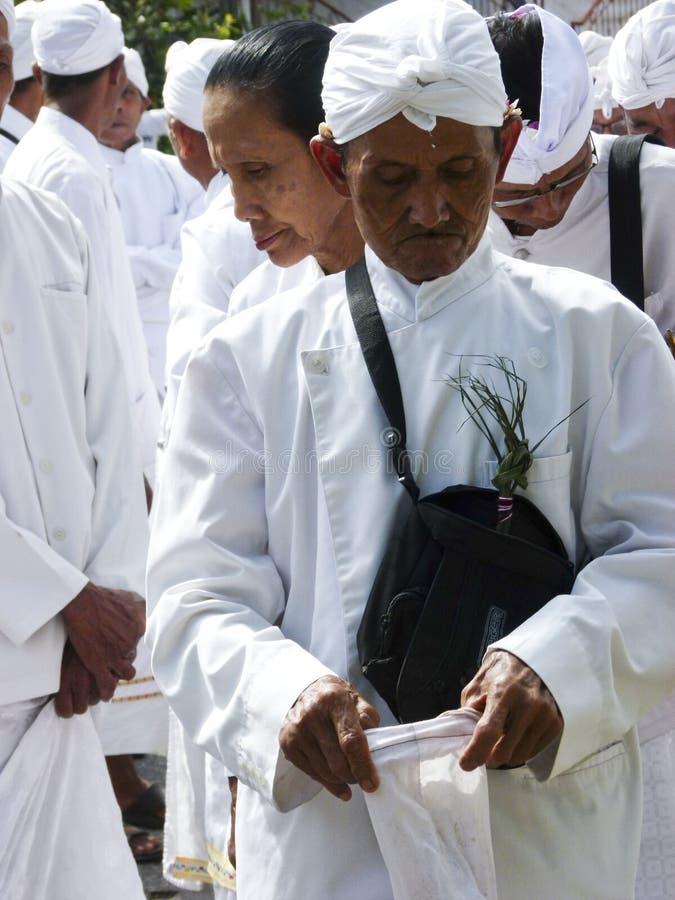 Hindus ritualprocession arkivfoto
