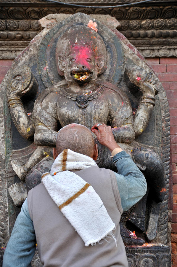 Hindus be royaltyfri fotografi