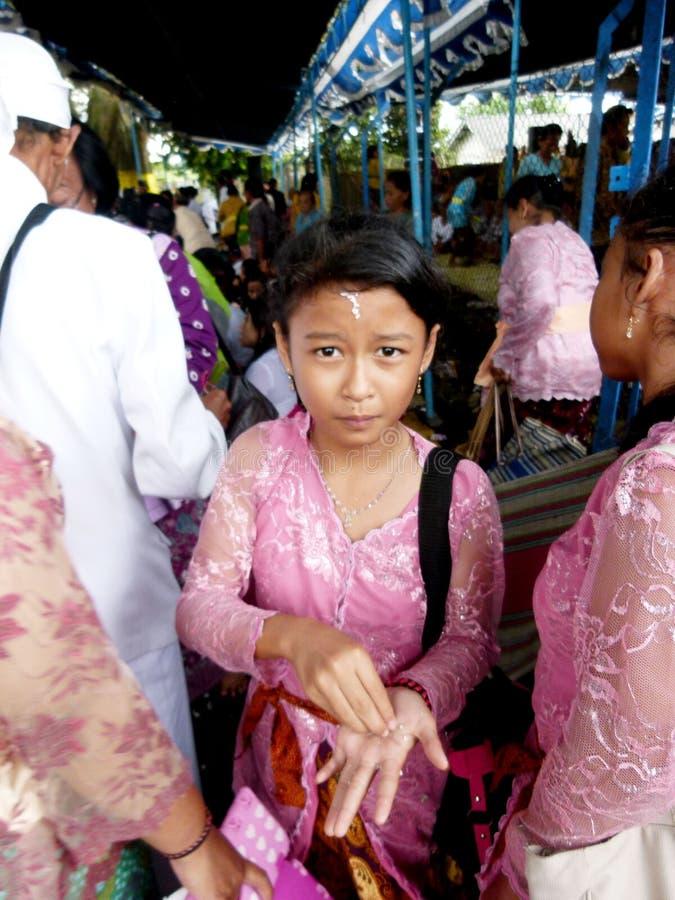 Hindus välsignelse fotografering för bildbyråer