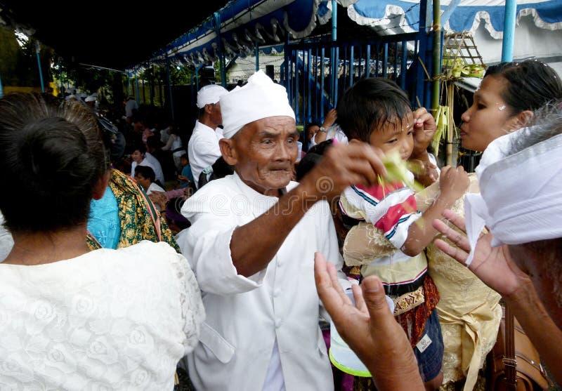 Hindus zegen stock fotografie