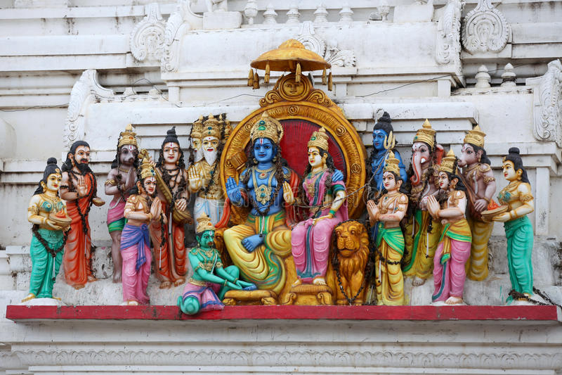 Hinduscy bóg obraz royalty free