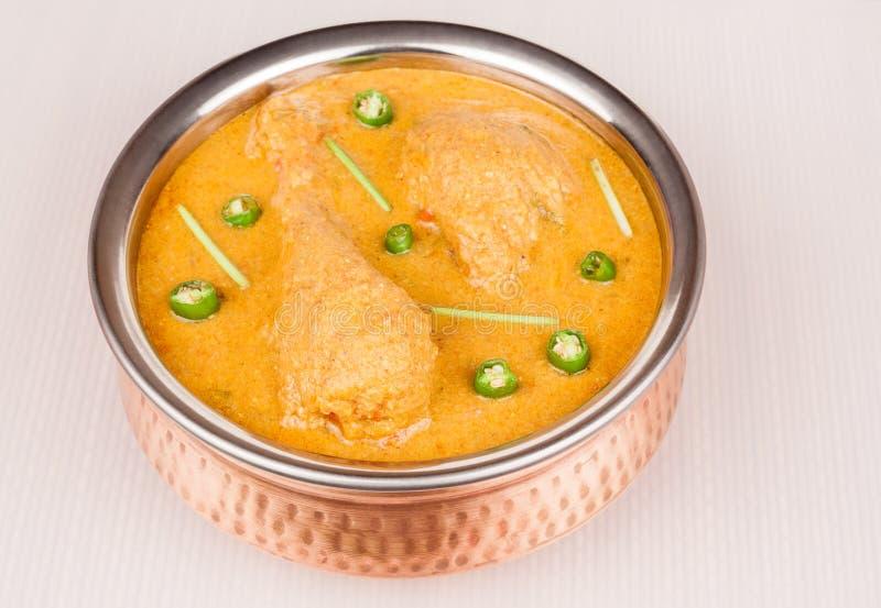 hindusi kurczaka curry zdjęcia stock