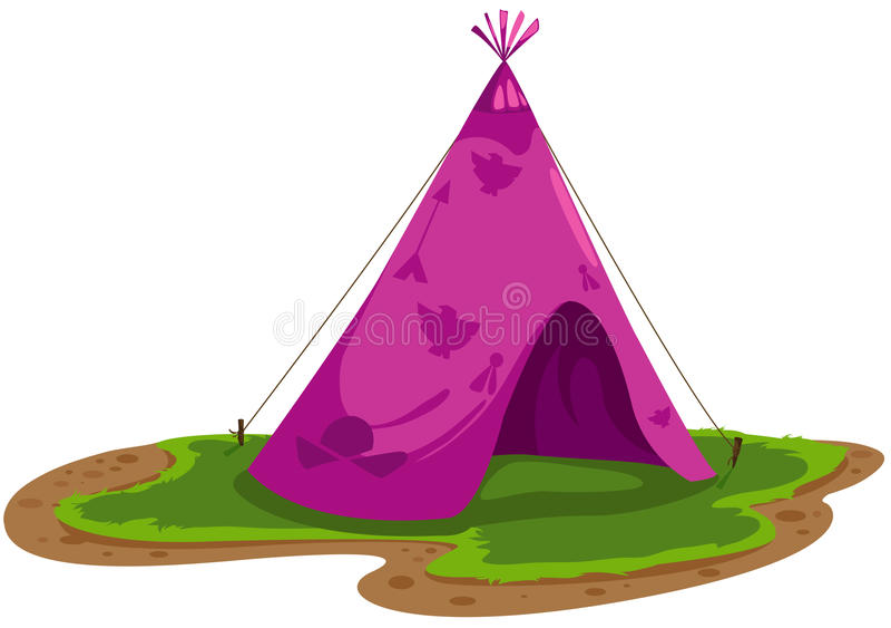 hindusi namiotowi ilustracji