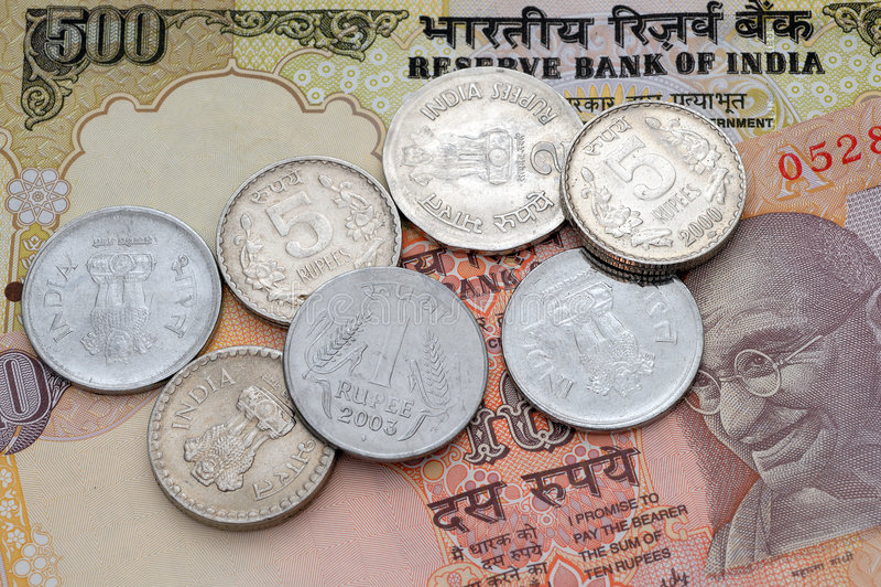 hindusi waluty obraz royalty free